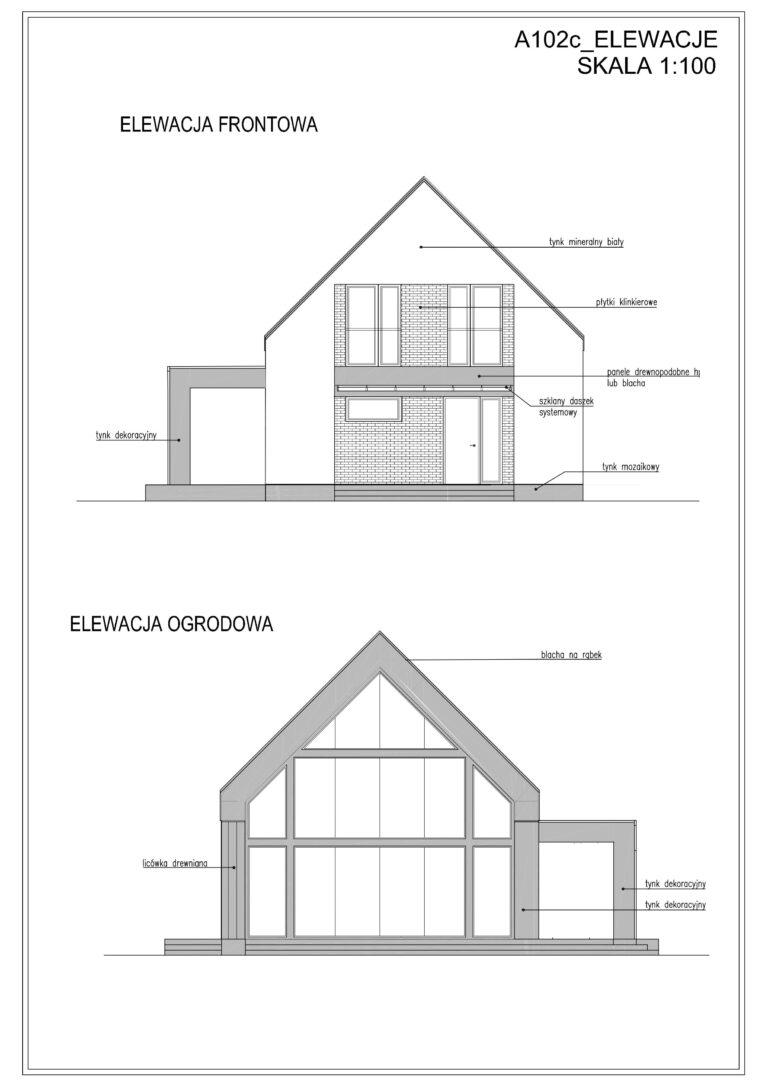 projekt domu w inwestycji ekohouse